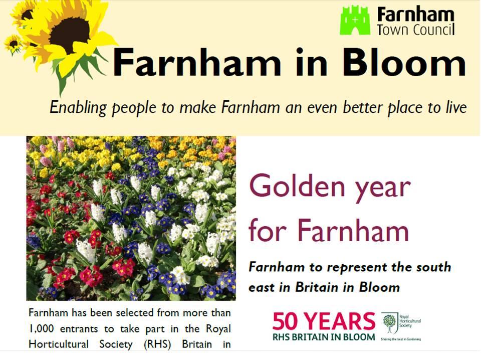 Farnham in Bloom 2014