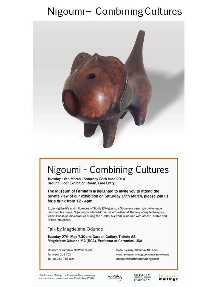 Nigoumi Exhibition 18th March – 28th June 2014