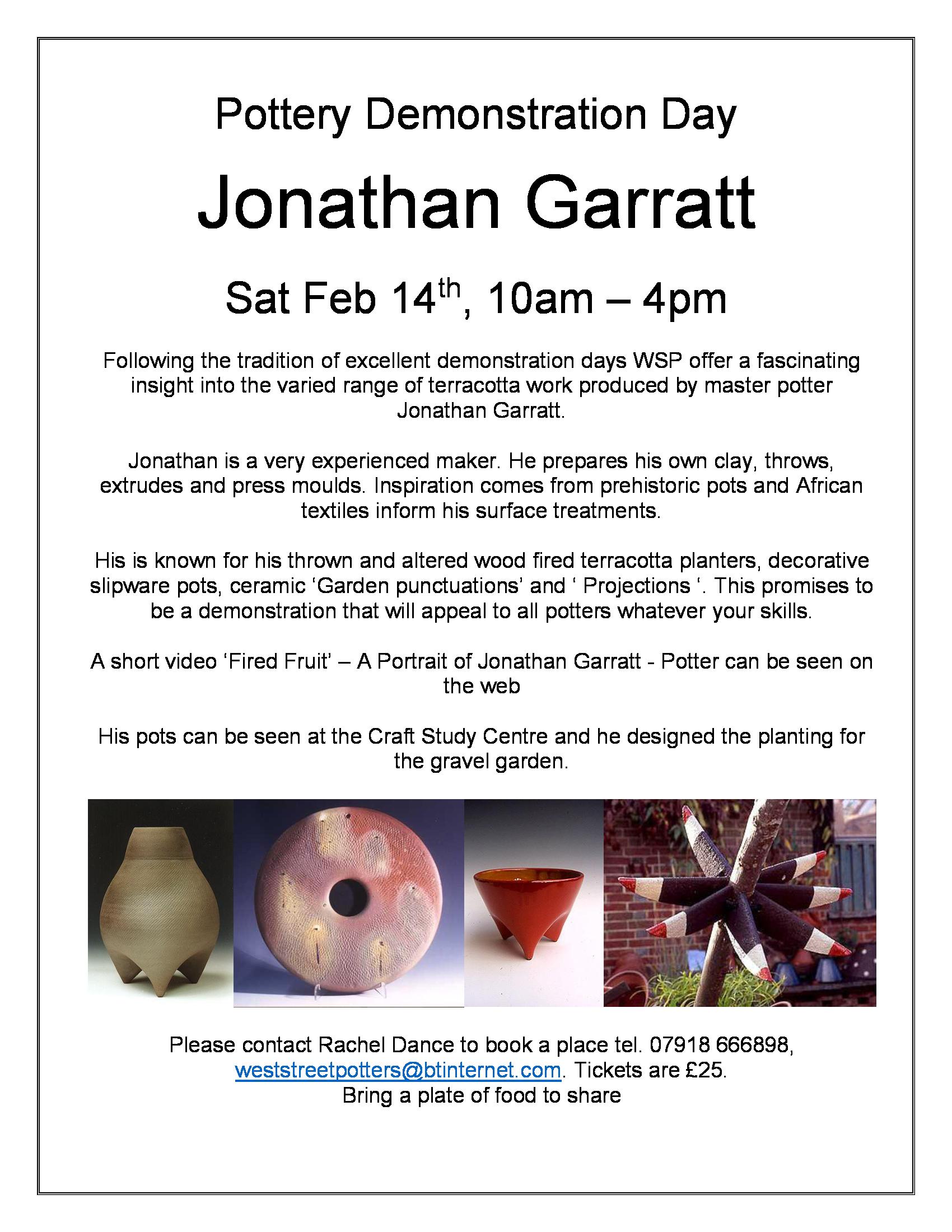 Jonathan Garratt – 14th Feb 2015