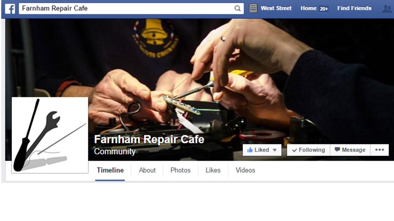 Farnham Repair Cafe – Next one….Sat 14th February