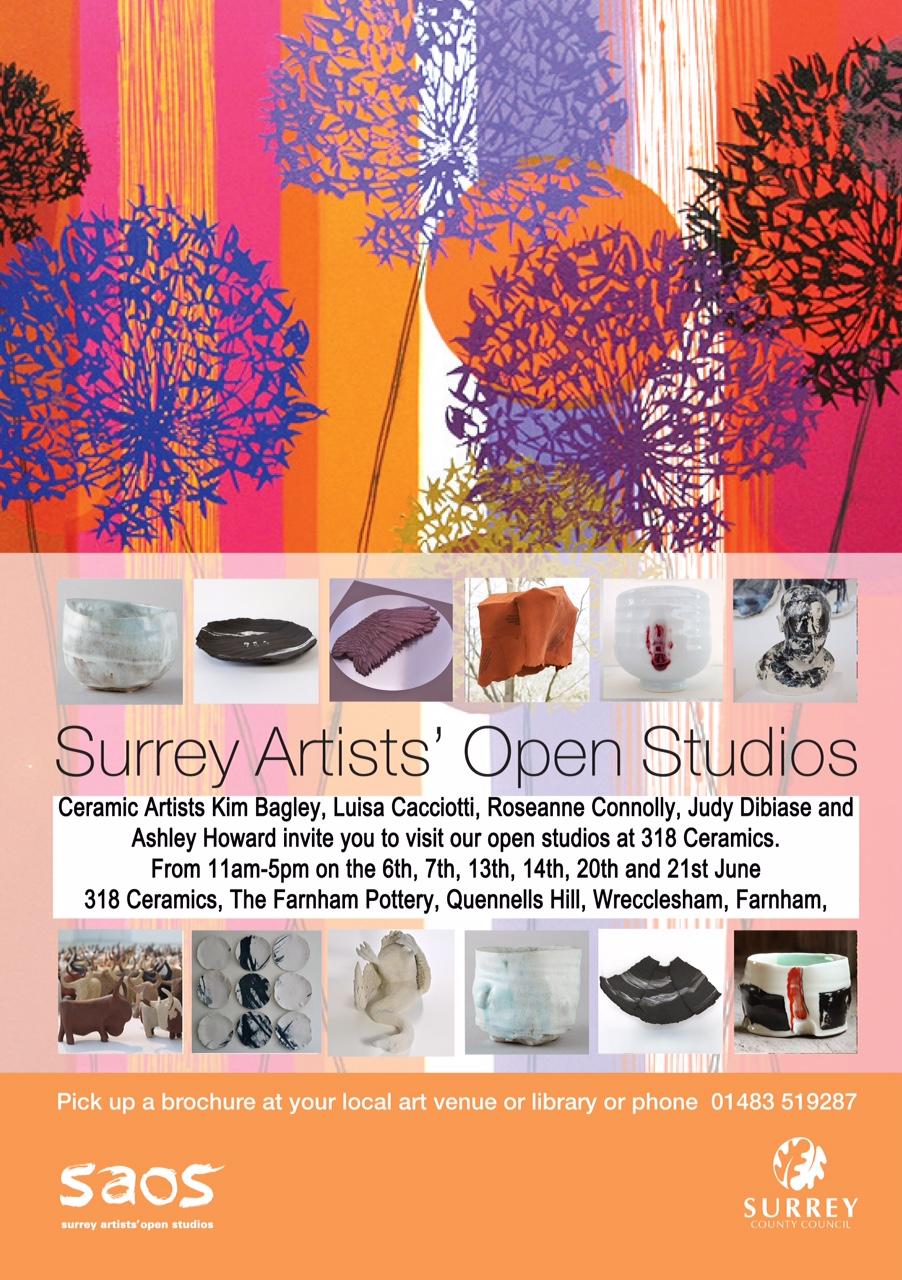 Surrey Artists' Open Studios – 318 Ceramics