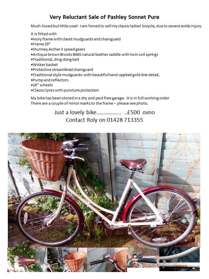 Pashley Bike For Sale