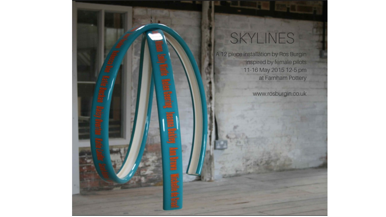'Skylines' evening opening  – 14th May 6-8 pm
