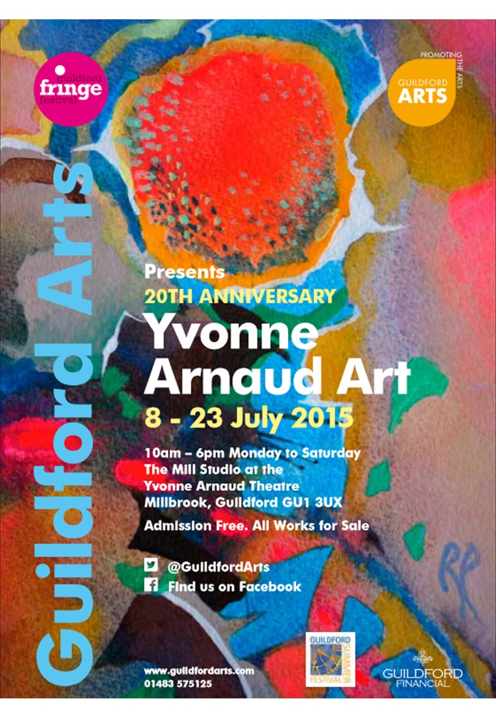 Guildford Arts – Yvonne Arnaud – 8th to 23rd July