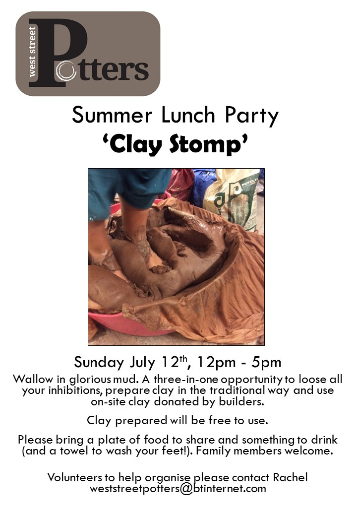 Clay Stomp! – Summer Lunch Party