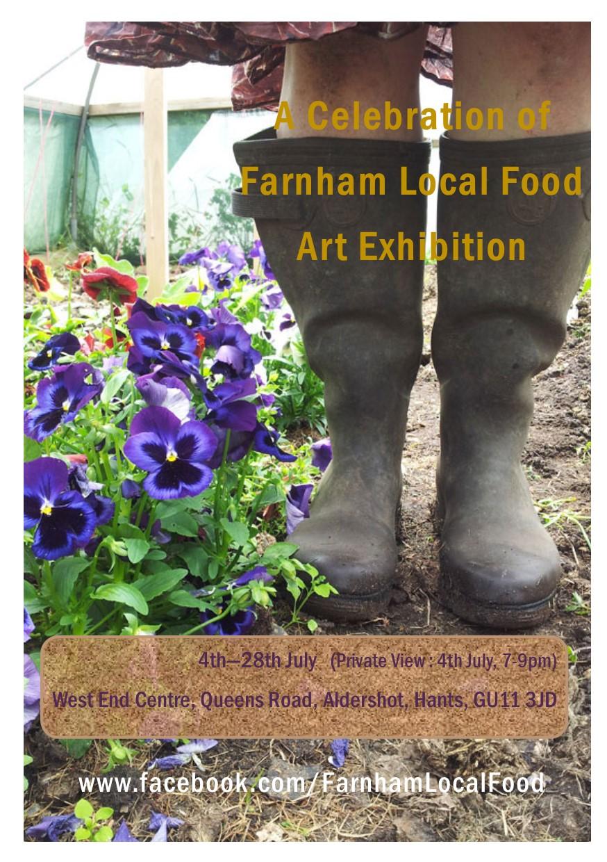 A Celebration of Farnham Local Food – Art Exhibition