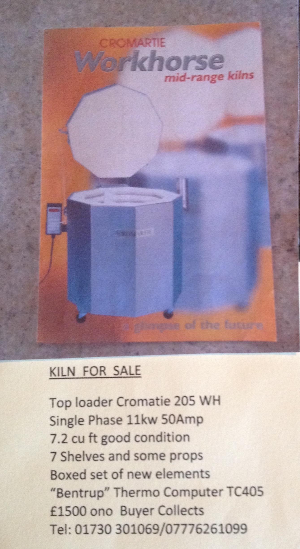 Cromartie Workhorse Kiln for Sale