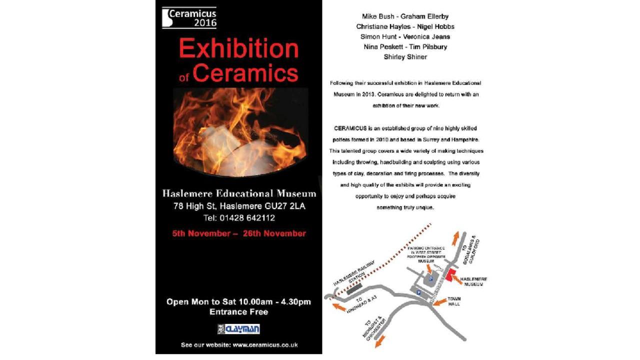 Ceramicus Exhibition 2016
