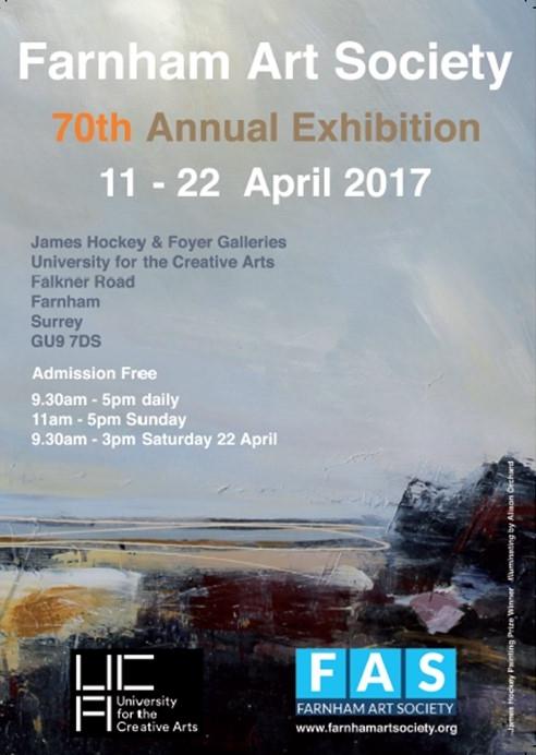 Farnham Art Society – 70th Annual Exhibiton