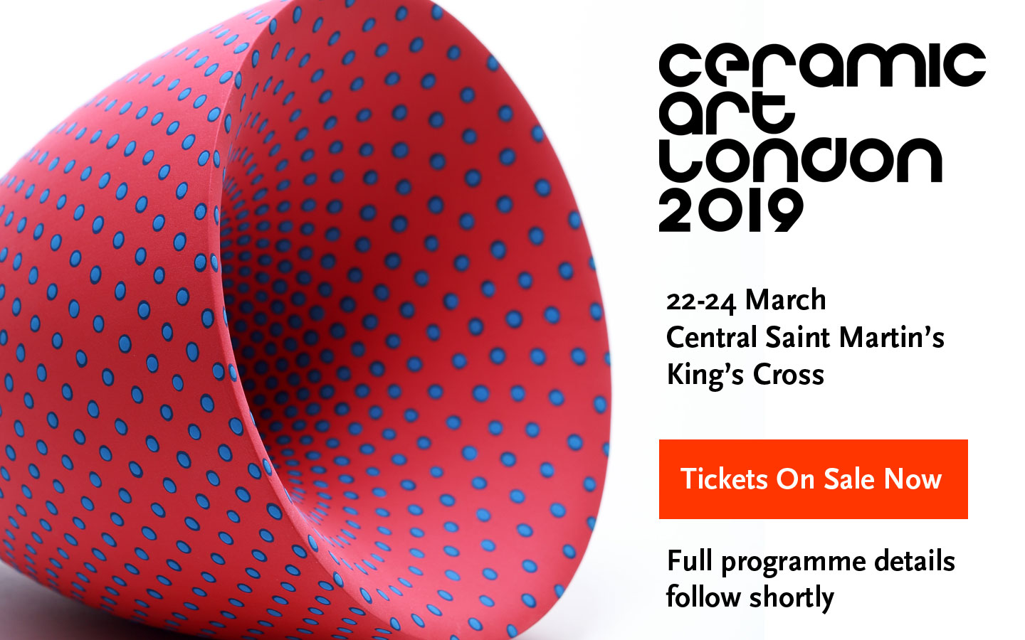 Trip to Ceramic Art London – Sat 23rd March 2019