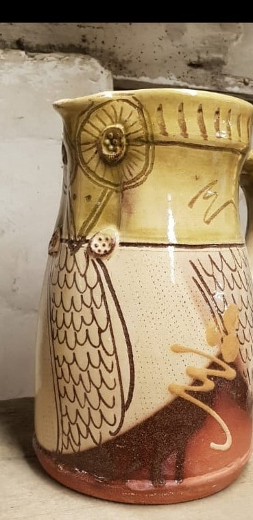 318 Owl Jug missing